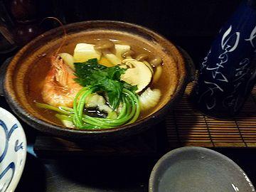 松茸と鱧の土瓶蒸風