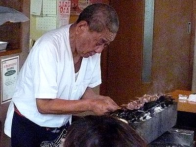 店主・戸嶋福三郎さん