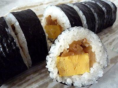 「ささき寿司店」の巻寿司