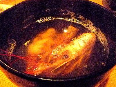 赤海老の吸物