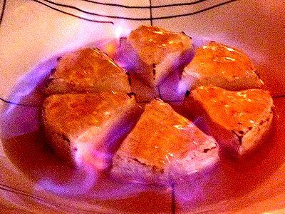 カマンベールチーズのオレンジマーマレード焼き