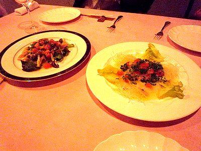 「ニース食堂」の前菜