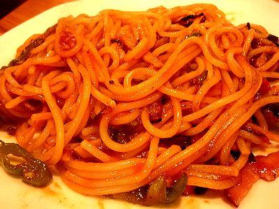 スパゲティ・ナポリタン