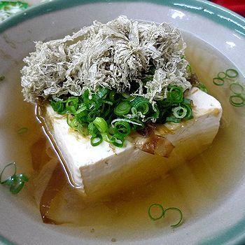 名物・湯豆腐
