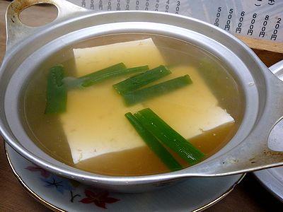 スープ豆腐