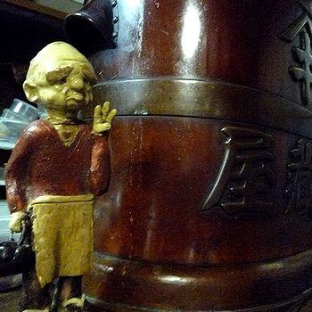 初代・木村銀蔵さんの像