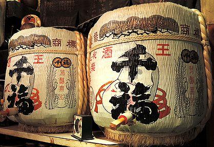 「千福」樽酒