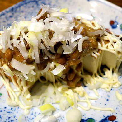 厚揚納豆焼