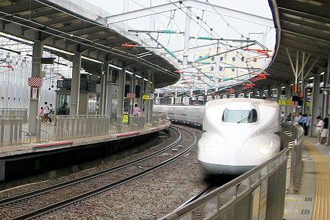 小倉駅新幹線ホーム