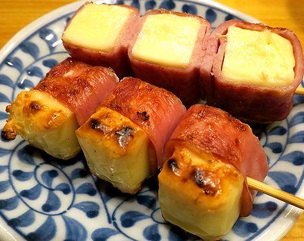 ベーコンチーズ串