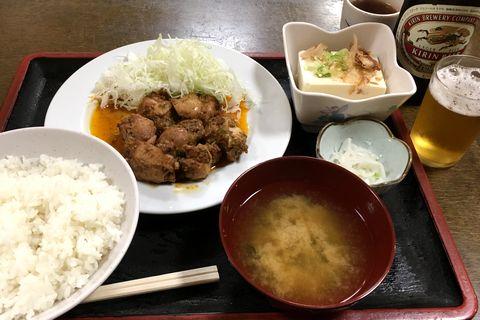 チキンヤーン定食