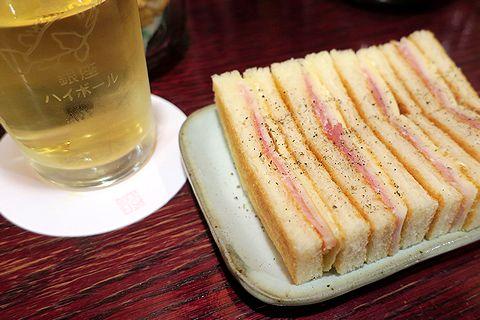 千枚漬サンドウィッチ