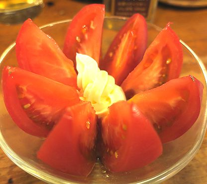 冷トマト+マヨネーズ