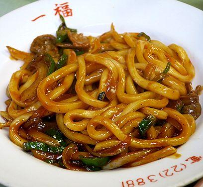 炒めうどん(ケチャップ味)