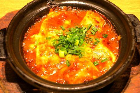 焼きチーズ麻婆豆腐