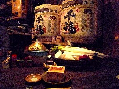 「千福」の樽酒