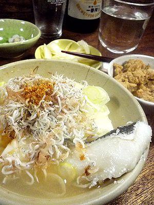「武蔵屋」のタラ豆腐