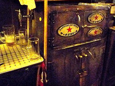 氷冷のビールサーバー