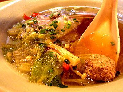 さんまのすりみ野菜スープ