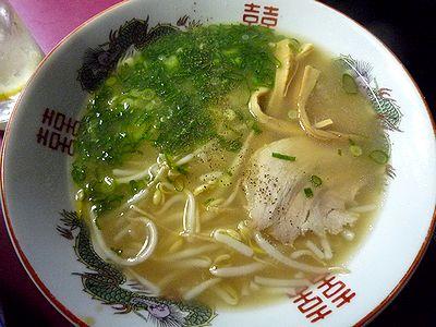 中華そば(半麺)