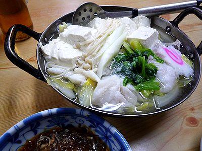 タラ湯豆腐