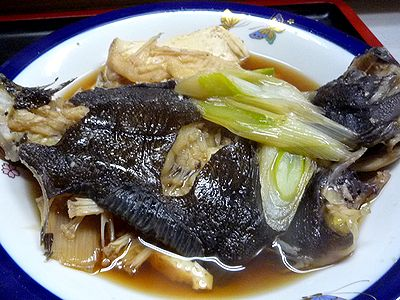 煮魚(カレイ)