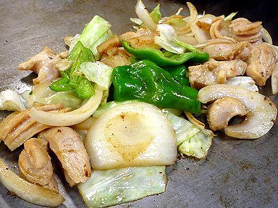 白身焼き(野菜入り)