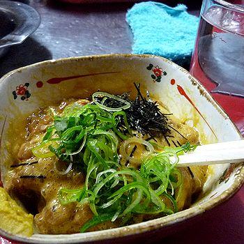 納豆と燗酒