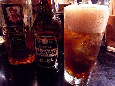 ウイスキー黒ホッピー
