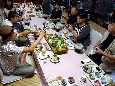 江田島「坪希」での飲み会