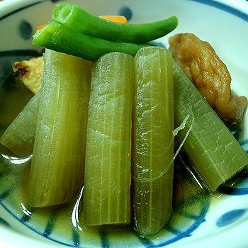山菜(ふき)煮付け