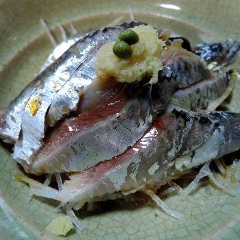 「武蔵屋」イワシ酢