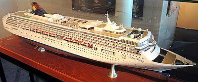 本船の模型