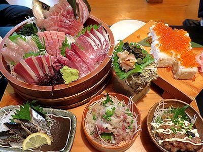 三浦地魚の盛り合せ