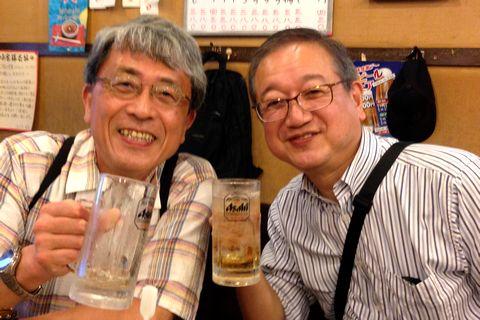 橋本先生と合流