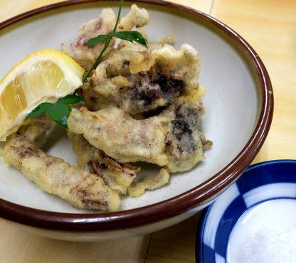 チイチイイカの天ぷら