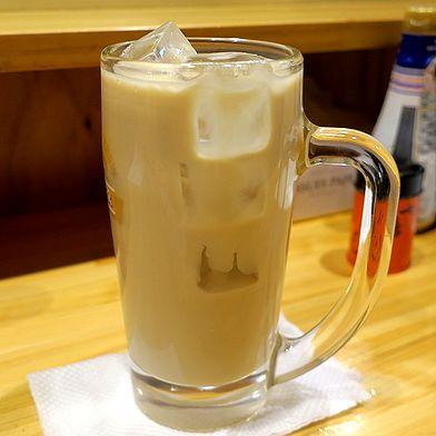 コーヒー焼酎豆乳割り