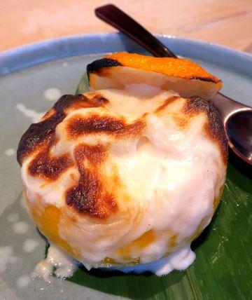白子グラタン柚子釜焼き