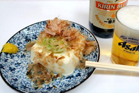 横須賀湯豆腐でビール