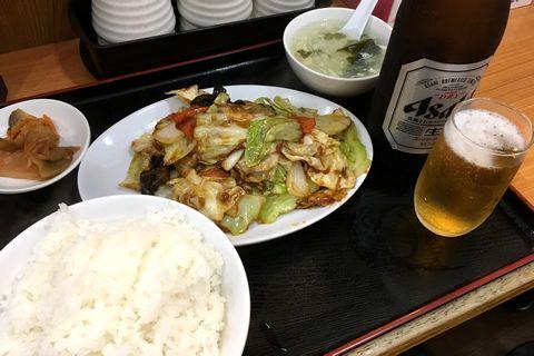 ホイコーロー定食