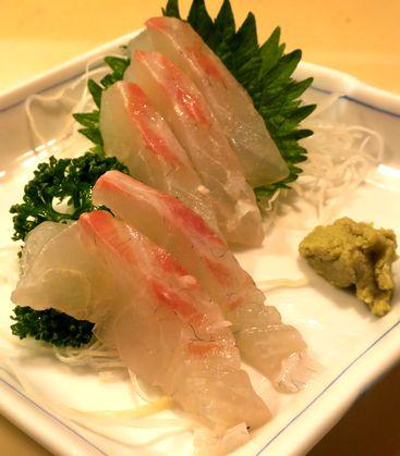 真鯛刺身(小)