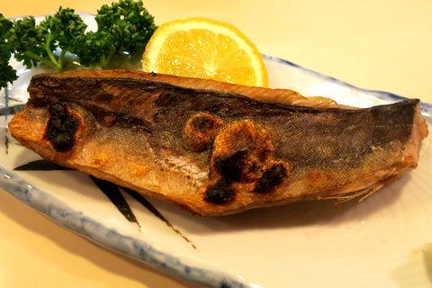 生ほっけ焼き魚