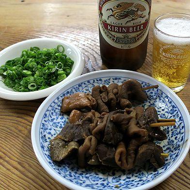 関東煮とビール