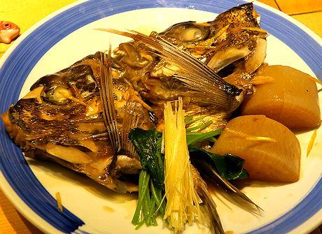 真鯛かぶと煮