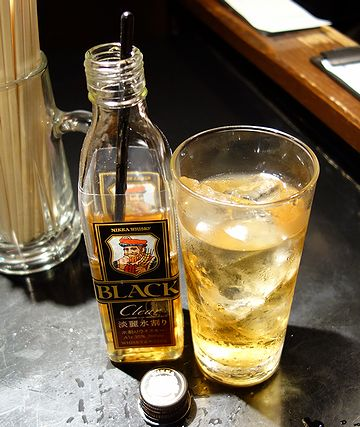 ウイスキー水割