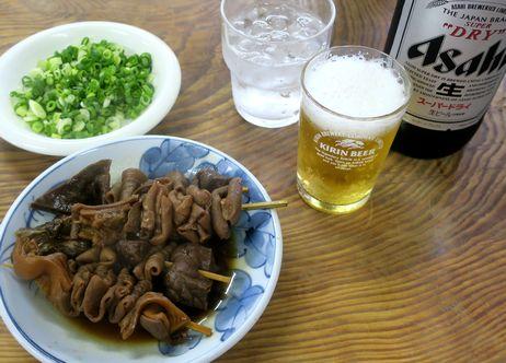 関東煮でビール