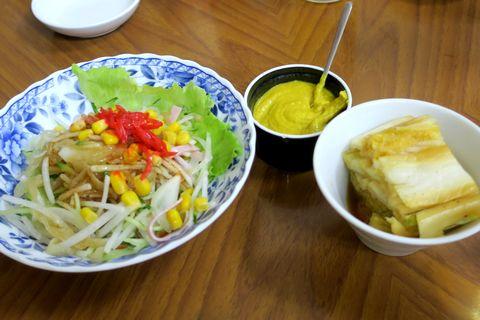 くらげサラダ、辣白菜