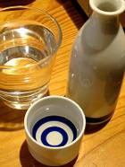 燗酒とお水