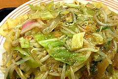 野菜たっぷり皿うどん